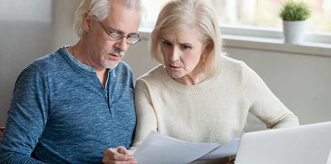 Stressed retirees over home purchase