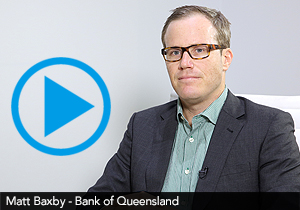Matt Baxby, Bank of Queensland
