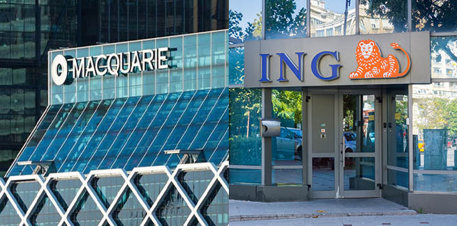 Macquarie and ING